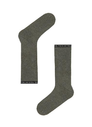 Penti Kül Rengi Erkek Cool Soket Çorap Gri